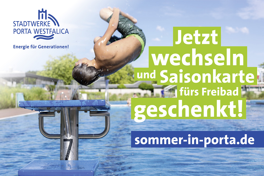 Sommer in Porta Aktion